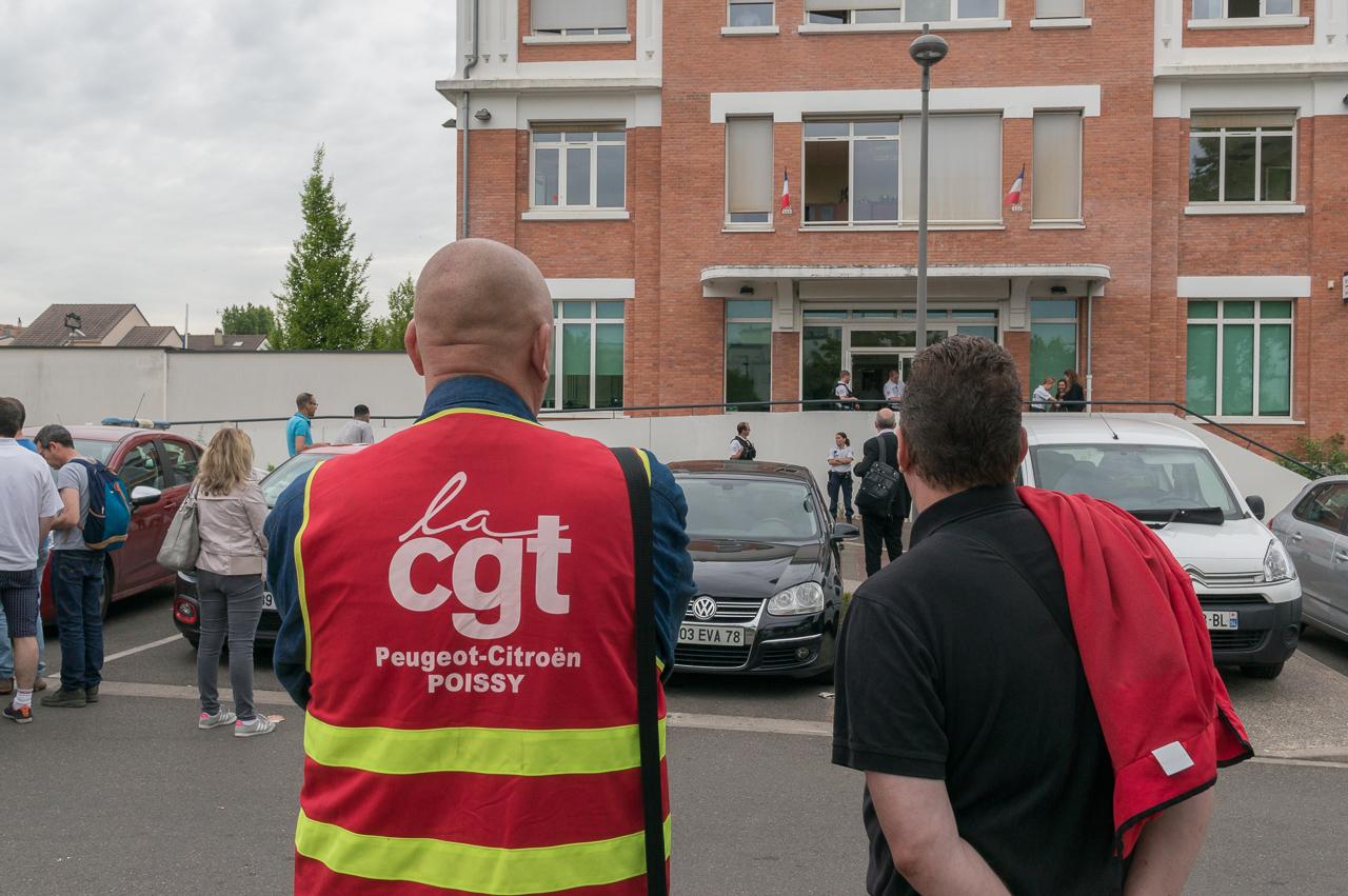 Tensions entre la CGT et PSA après la condamnation d'un syndicaliste