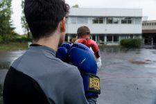 De la boxe anglaise avec un athlète olympique