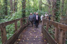 Entre forêt et Seine, les controversés sentiers de l'île Nancy sont ouverts