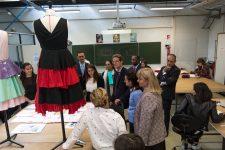 L'ambassadeur découvre les formations du lycée Bolland