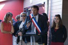 Après le procès, l'école des Terres rouges inaugurée