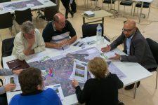 Gommettes et marqueurs aux ateliers d'urbanisme
