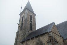 Cloche restaurée et nouveau beffroi pour l'église