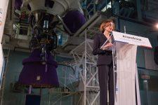 La ministre des armées visite l'usine ArianeGroup