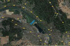 Pointe de Verneuil : 200 anneaux à bateaux et 450 logements