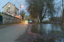 Sur le quai, quelques maisons inondées et pas de gaz depuis cinq jours
