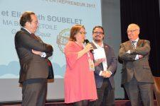Prix de l'entrepreneur : leur gourde à compote réutilisable séduit le jury