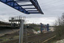 Viaduc de l'A13: la circulation des trains coupée
