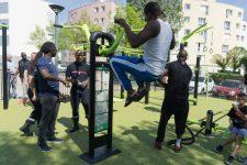 Un plateau de street workout à 56 000 euros