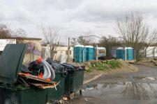 Bagarre au camp de Roms