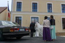 Un premier mariage célébré dans la nouvelle mairie