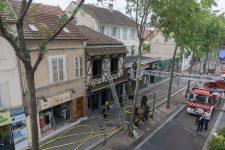 Début d'incendie dans un café du centre-ville