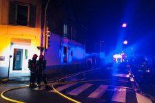 Dix-sept personnes évacuées pour unincendie