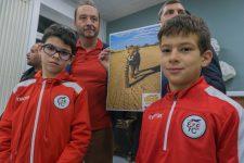 Le club de foot parraine un guépard