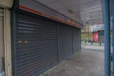 Une démolition pour «ouvrir» lecentre commercial des Merisiers