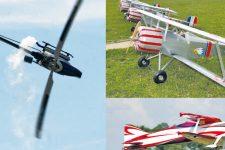 Les modèles réduits investissent l'aérodrome desMureaux