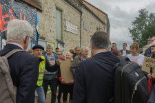 Les anti-carrière bloquent l'enquête publique du plan d'urbanisme