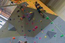 Un nouveau mur d'escalade pour accueillir des compétitions