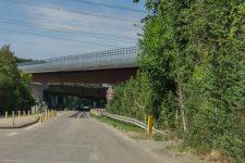 Le nouveau viaduc ouvert dans le sens Caen-Paris