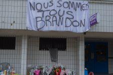 Emotion après le décès de Brandon, poignardé au pied des tours Ader