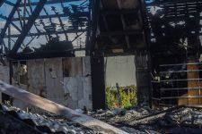 Le chapiteau de la Compagnie des contraires détruit par un incendie