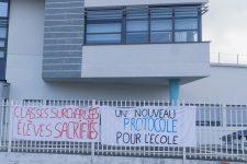 Grève des collèges: professeurs et parents d'élèves critiquent le protocole sanitaire